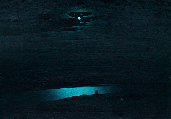 """Картина Архипа Куинджи """"Лунная ночь на Днепре""""(2021) Фото: uralvagonzavod.ru"""