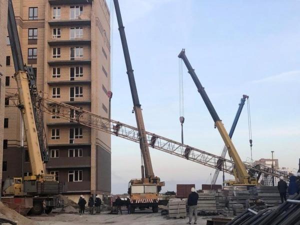 Кран, падение, Тимофея Кармацкого, Тюмень(2021)|Фото: Прокуратура Тюменской области