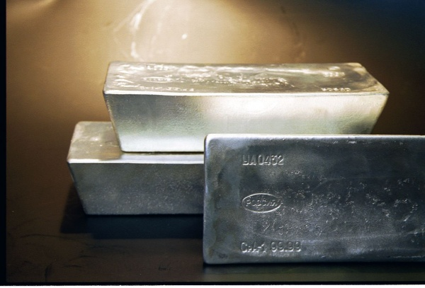 серебряный слиток, серебро, угмк(2021)|Фото: пресс-служба УГМК