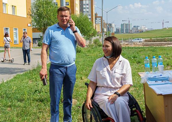 Николай Смирнягин, Анастасия Немец(2021)|Фото: пресс-служба медицинской фракции
