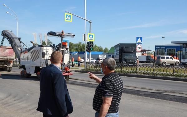 Контроль за ремонтом улиц, Нижневартовск(2021)|Фото: Администрация Нижневартовска