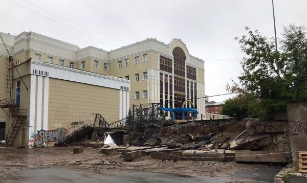 Обрушение стены, Пермь(2021)|Фото: vk.com, Мой город - Пермь