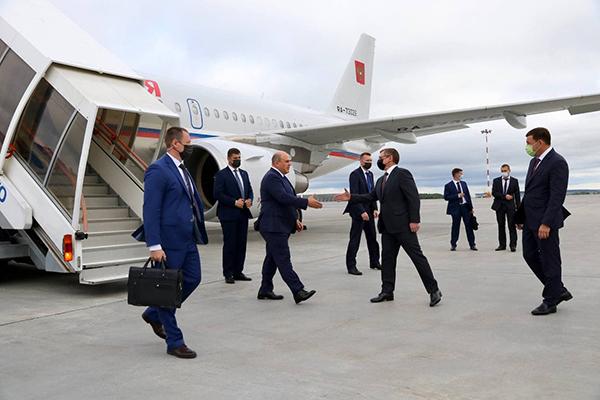 Михаил Мишустин прибыл на Иннопром-2021(2021)|Фото: Департамент информационной политики Свердловской области
