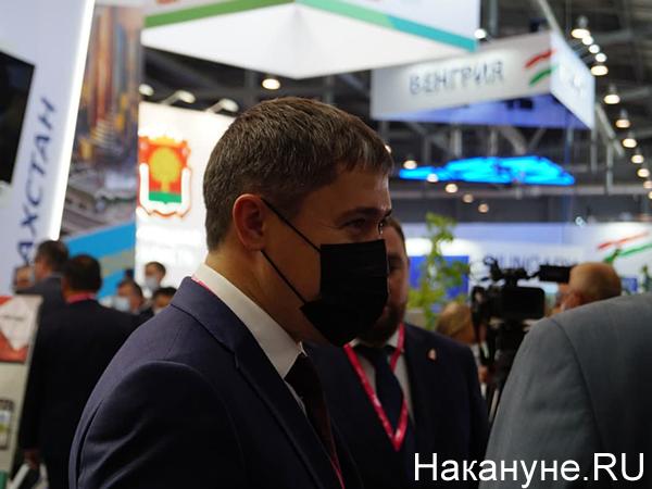 Дмитрий Махонин на Иннопром-2021(2021)|Фото: Накануне.RU