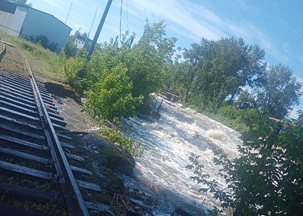 Потоп в Верхней Салде(2021)|Фото: vk.com/vsalde, Денис Минеев