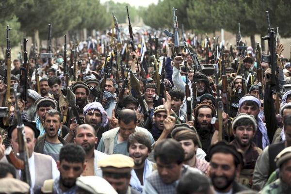 Афганистан, ополченцы(2021) Фото: AP Photo/Rahmat Gul