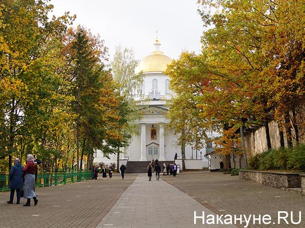 Псково-Печерский монастырь(2021) Фото: Накануне.RU