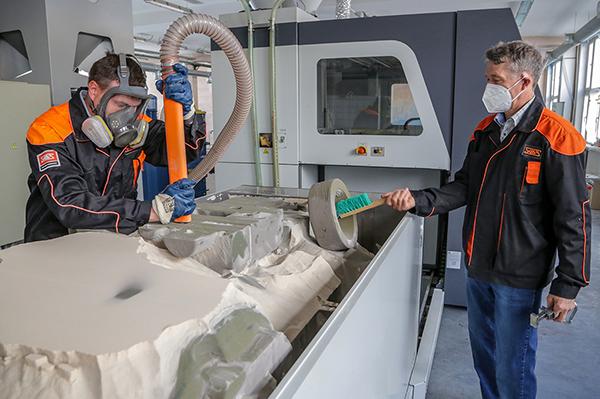 Промышленный 3D-принтер на Уралвагонзаводе(2021) Фото: uralvagonzavod.ru