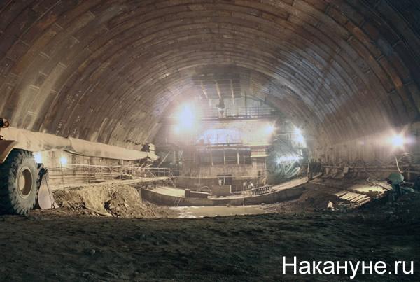 строительство метро Метрострой-ПТС станция Чкаловская|Фото:Накануне.RU