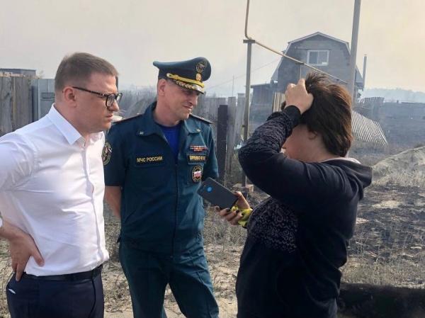 Алексей Текслер, поселок Джабык,(2021) Фото: пресс-служба губернатора Челябинской области