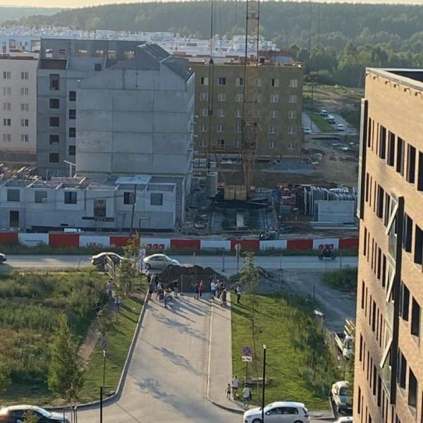 ЖК Меридиан, Суходольский квартал, Суходольская, улица, дорога, раскопки, строительство(2021)|Фото: instagram.com/michurinsky_ekb