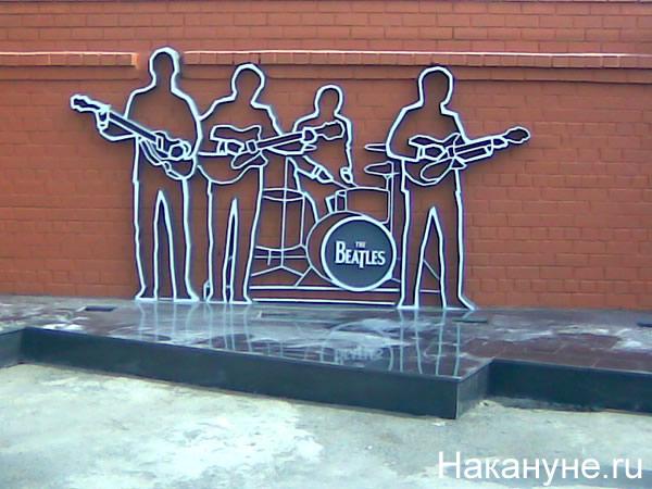 "Памятник группе ""Битлз"" Екатеринбурге|Фото: Накануне.RU"