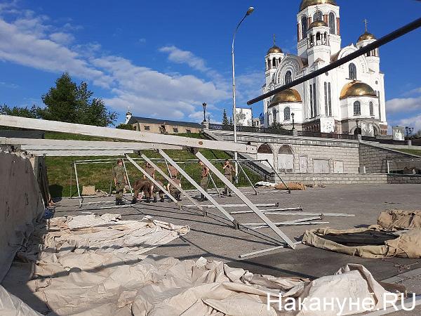 Военные палатки, храм на крови, царские дни(2021)|Фото: Накануне.RU