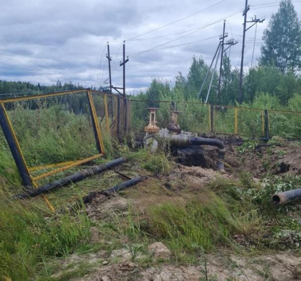 экология, разлив нефти, нефтепровод(2021)|Фото: Пресс-служба АО «Транснефть – Сибирь»