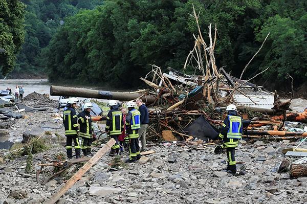 Наводнение в Шульде (Германия)(2021) Фото: REUTERS / Wolfgang Rattay