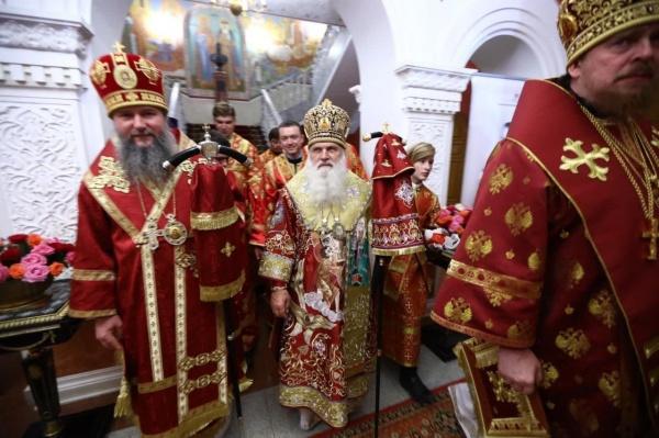 митрополит Евгений, митрополит Викентий(2021) Фото: Екатеринбургская епархия