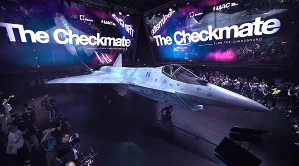 Самолет-истребитель Checkmate(2021)|Фото: Ростех