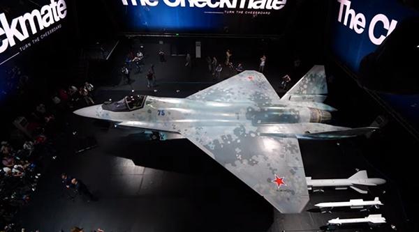 Самолет-истребитель Checkmate Су-75(2021)|Фото: Ростех