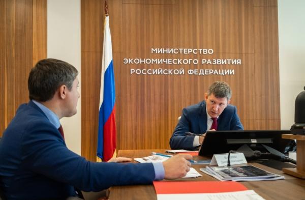 Дмитрий Махонин, Максим Решетников(2021)|Фото: Администрация Пермского края