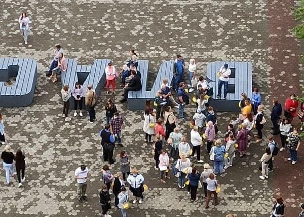В Перми эвакуируют людей из здания заксобрания(2021)|Фото: t.me/Bolshaya_P
