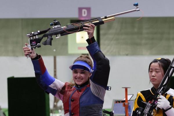Анастасия Галашина, стрельба, медаль(2021)|Фото: sport-express.ru