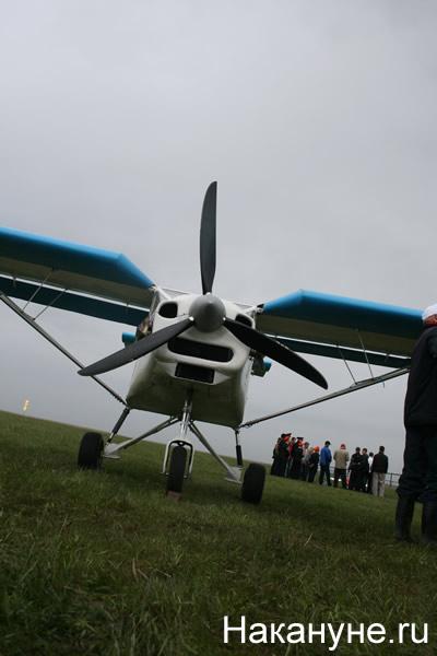 самолет малая авиация аэродром Логиново|Фото:Накануне.RU