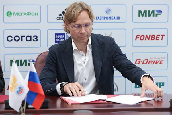 Валерий Карпин(2021)|Фото: официальный твиттер сборной России по футболу