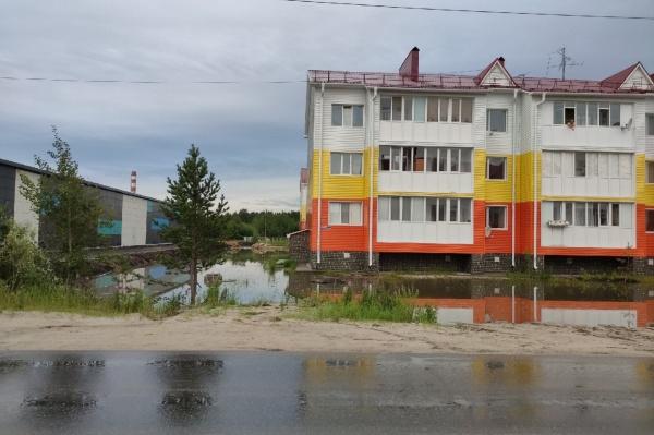 фекальный потоп, микрорайон Арктика(2021)|Фото: vk.com/nojabrsk112