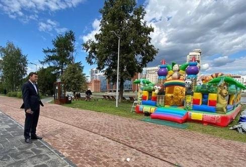 Куйвашев, батут(2021)|Фото: instagram.com/evgenykuyvashev