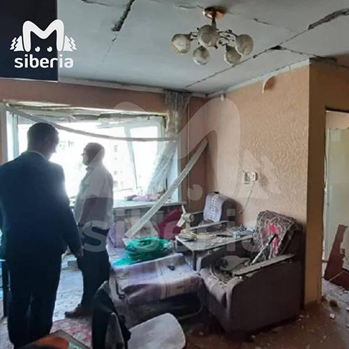Взрыв газа в многоквартирном доме в Барнауле(2021)|Фото: t.me/mash_siberia