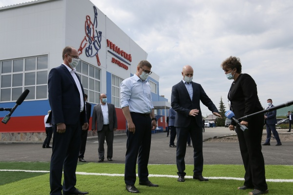Алексей Текслер, Увельский район,(2021) Фото: пресс-служба губернатора Челябинской области
