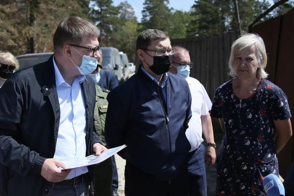 Алексей Текслер, Владимир Якушев,(2021)|Фото: пресс-служба губернатора Челябинской области