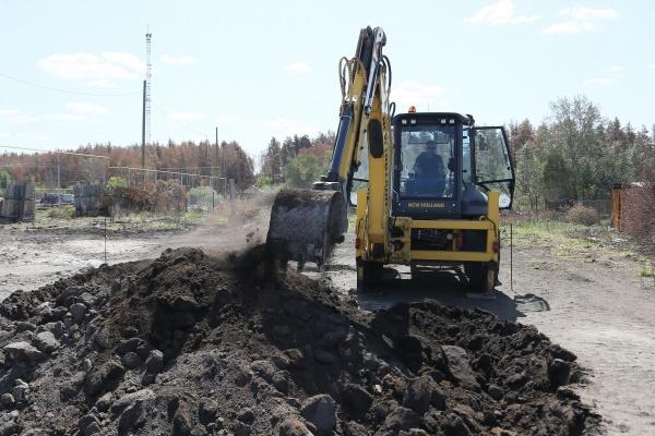 строительство домов в поселке Джабык(2021)|Фото: пресс-служба губернатора Челябинской области