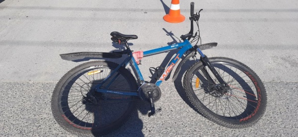 сбитый велосипедист, велосипед, подросток(2021) Фото: vk.com/gibdd72