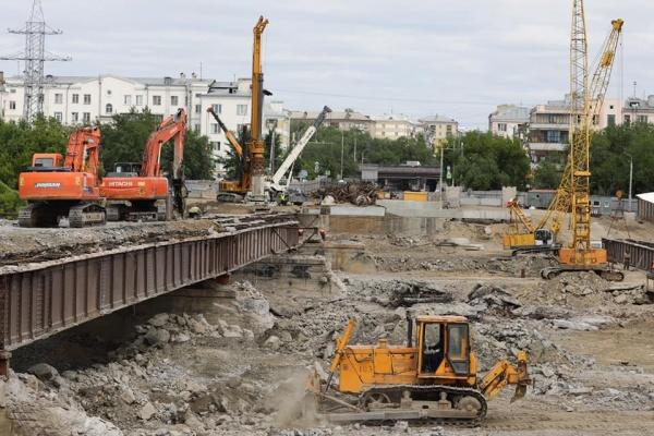 Ленинградский мост, реконструкция,(2021) Фото: пресс-служба администрации Челябинска