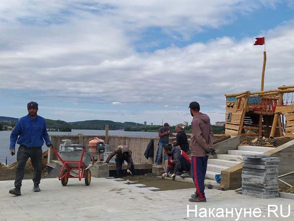 """Набережная """"Тагильская Лагуна""""(2021) Фото: Накануне.RU"""
