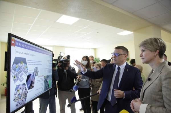 Алексей Текслер, Елена Шмелева,(2021)|Фото: пресс-служба губернатора Челябинской области