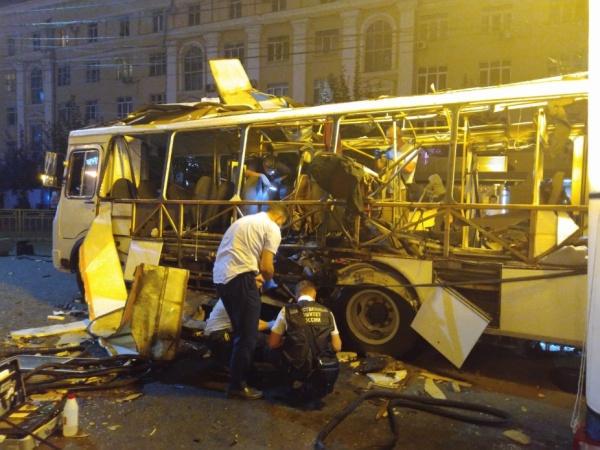 взрыв автобуса в Воронеже(2021)|Фото: СКР