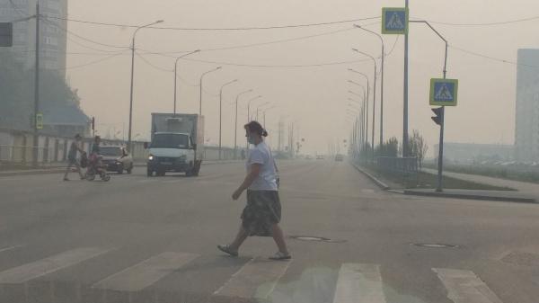 смог в Тюмени, лесные пожары(2021)|Фото: vk.com/incident_tmn