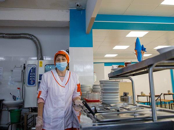 ремонт в столовых школ Екатеринбурга(2021) Фото: депуптат гордумы Алексей Вихарев