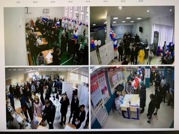 выборы, явка, очередь(2021)|Фото: vk.com/labytnangi_live