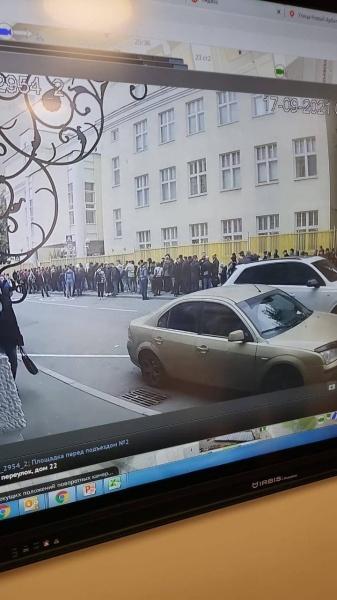 Очередь на голосование в Москве(2021)|Фото: МГИК