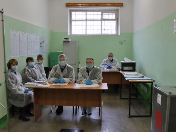 избирательные участки в СИЗО и ПФРСИ(2021)|Фото: ГУФСИН России по Свердловской области