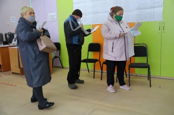 выборы, явка, очередь, голосование(2021) Фото: t.me/operativnyishtabtyumen