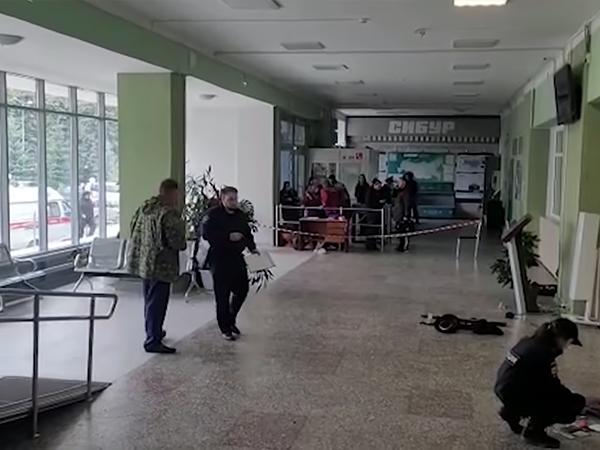 следователи на месте стрельбы ПГНИУ(2021) Фото: СК России