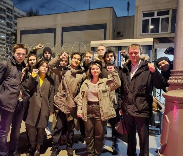 задержанные активисты(2021) Фото: Евгений Ступин