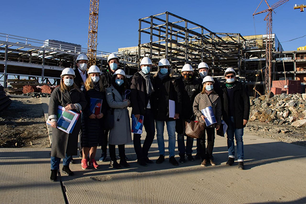 Делегация FISU в Екатеринбурге(2021) Фото: пресс-служба Всемирных студенческих игр FISU 2023 (Универсиада-2023)