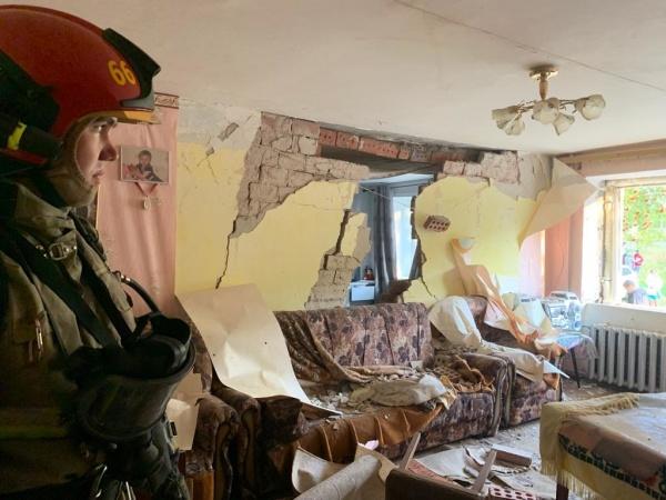Взрыв газа, Верхняя Пышма(2021)|Фото: ГУ МЧС по Свердловской области