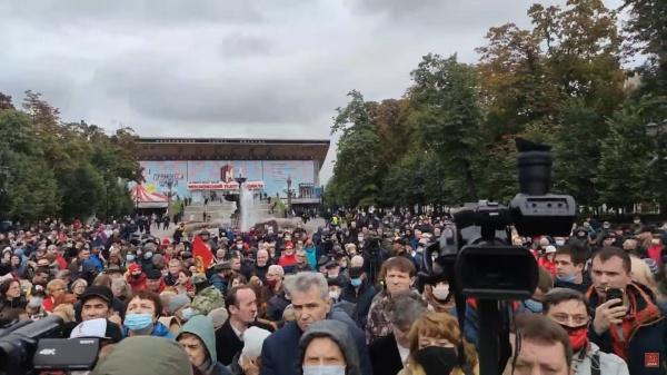 Встреча с КПРФ, Москва(2021)|Фото: youtube.com, Валерий Рашкин