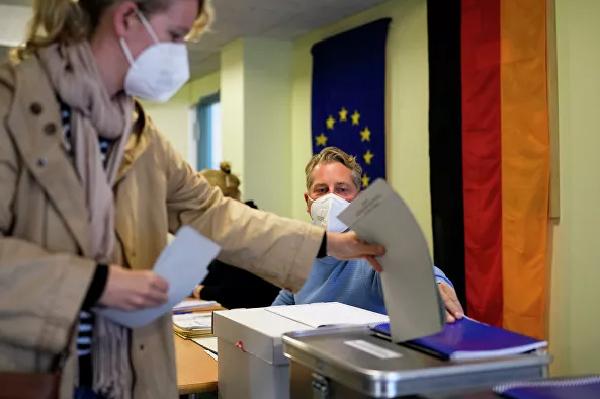 Парламентские выборы в Германии(2021)|Фото: AP Photo / Markus Schreiber